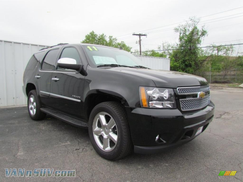 2011 chevrolet tahoe ltz in black 246698 vans and suvs for sale in the us. Black Bedroom Furniture Sets. Home Design Ideas