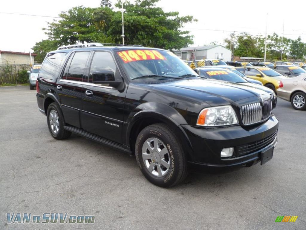 2006 lincoln navigator luxury in black j01401 vans and suvs for sale in the us. Black Bedroom Furniture Sets. Home Design Ideas
