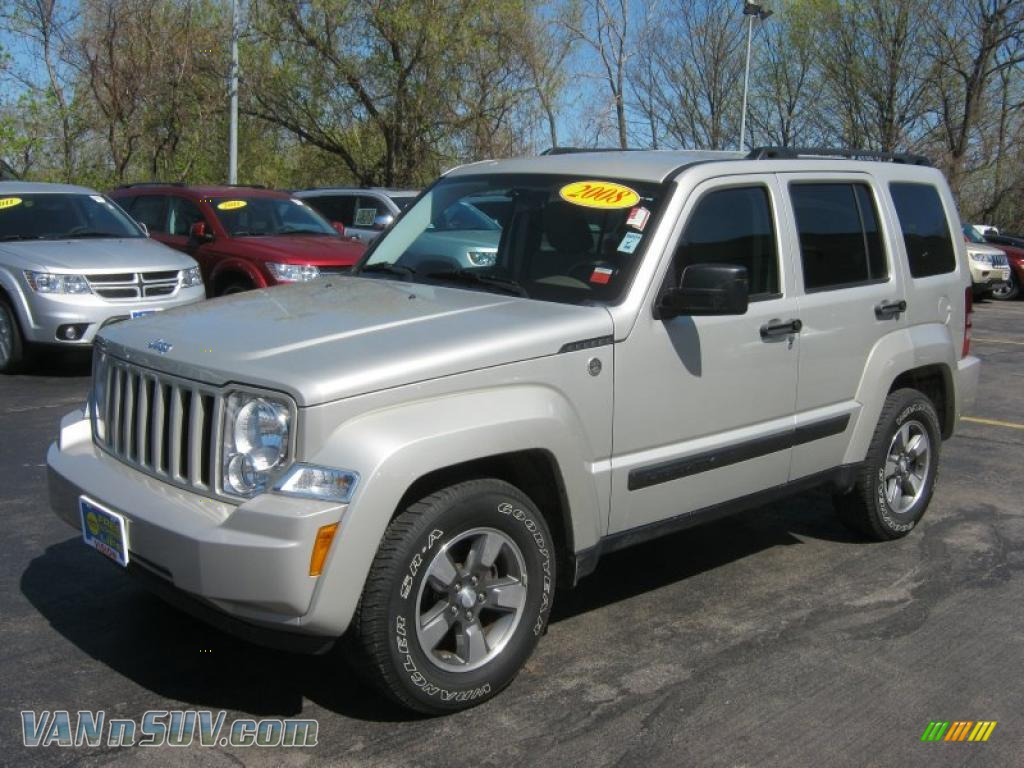Ron Lewis Jeep >> 2008 Jeep Liberty Sport 4x4 in Bright Silver Metallic - 229399 | VANnSUV.com - Vans and SUVs for ...