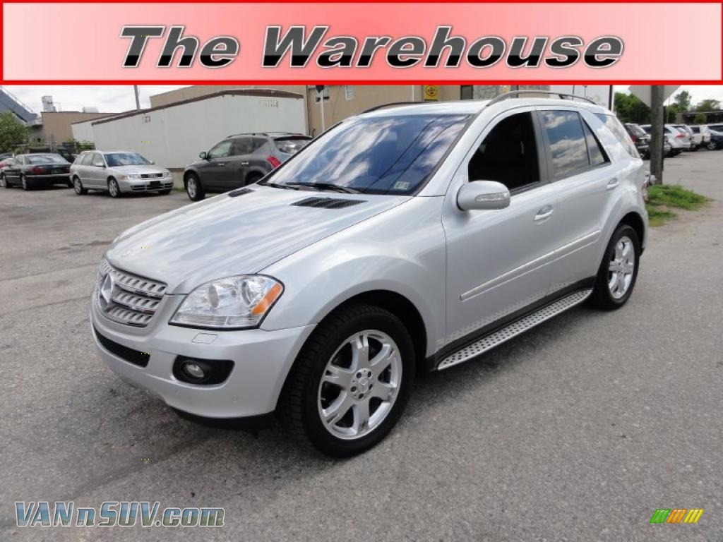 2007 mercedes benz ml 320 cdi 4matic in iridium silver metallic 251356 vans. Black Bedroom Furniture Sets. Home Design Ideas