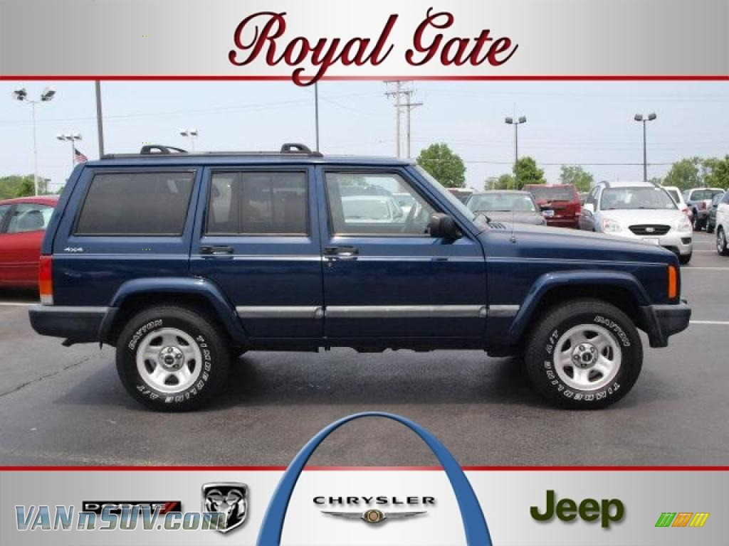 Jeep Patriot 6 Cylinder 2001 Jeep Cherokee Sport 4x4 in Patriot Blue Pearlcoat - 532187 ...