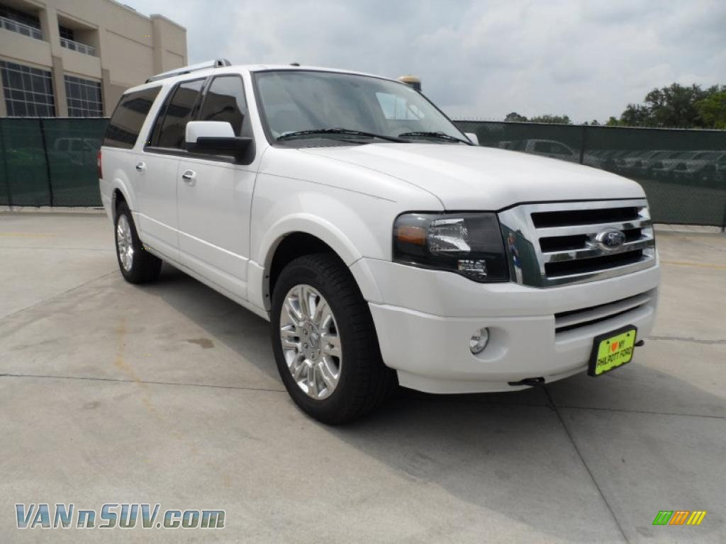 2011 ford expedition el limited 4x4 in white platinum tri coat f10099 vans and. Black Bedroom Furniture Sets. Home Design Ideas