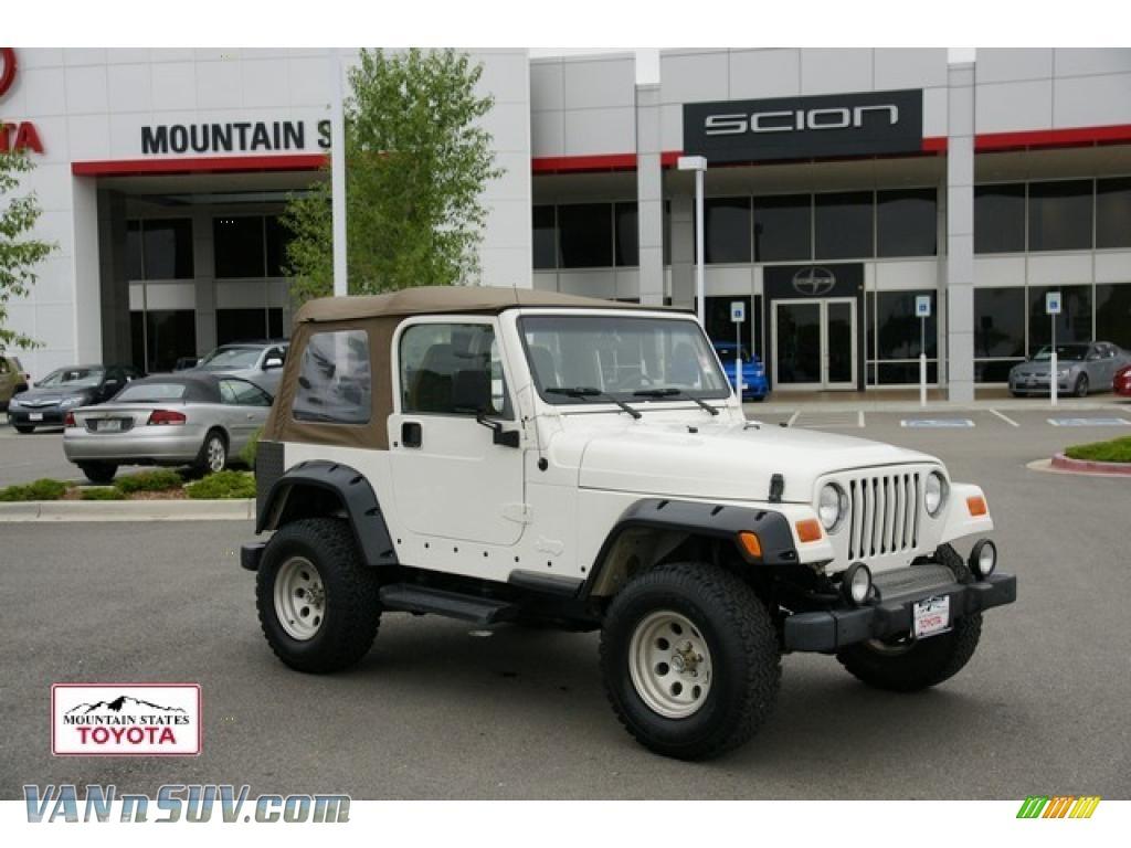 Stone White / Camel Jeep Wrangler Sahara 4x4