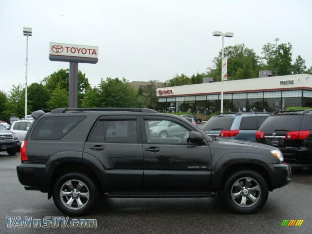 2008 Toyota 4runner Limited 4x4 In Shadow Mica 034055