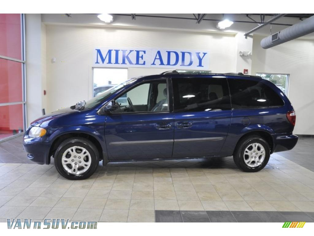 2003 dodge grand caravan ex in midnight blue pearl. Black Bedroom Furniture Sets. Home Design Ideas