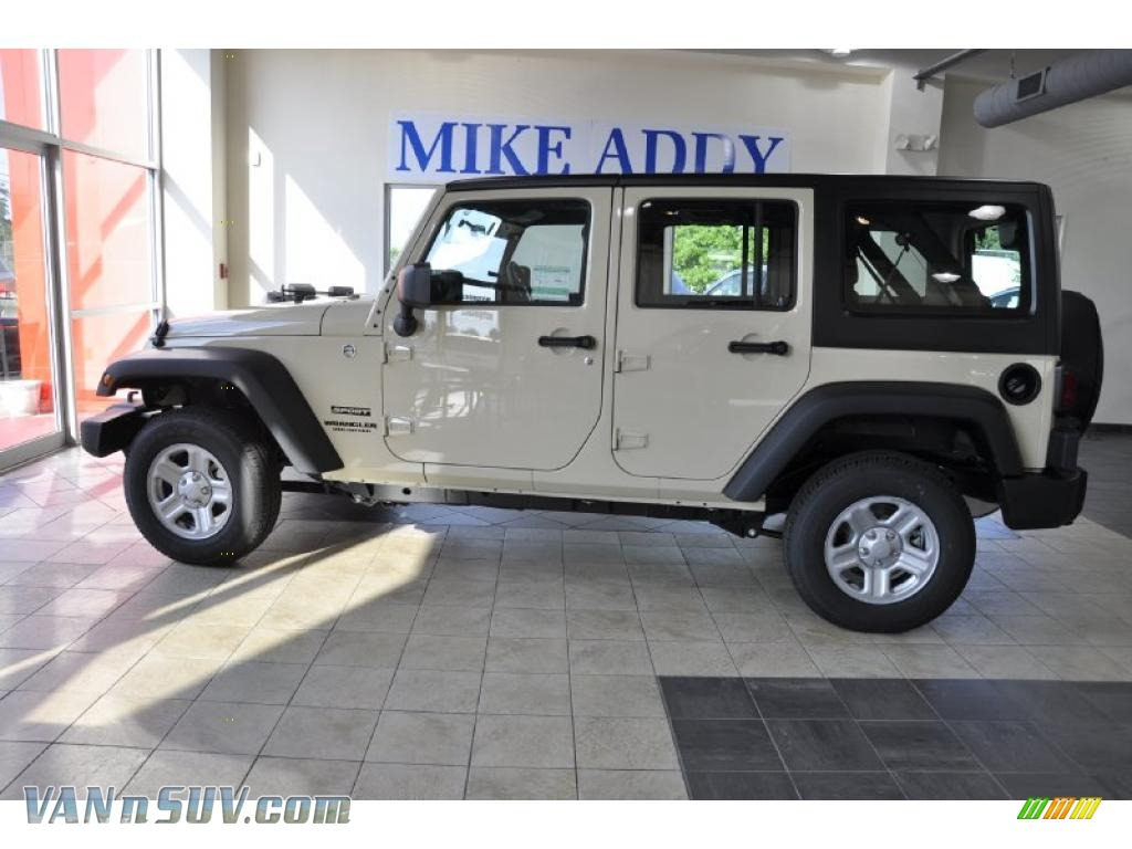 2011 jeep wrangler unlimited sport 4x4 right hand drive in sahara
