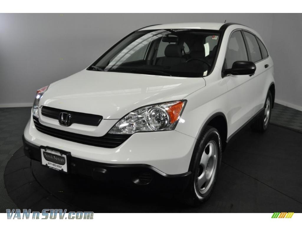 2008 Honda CR-V LX 4WD in Taffeta White - 043036 | VANnSUV.com - Vans ...