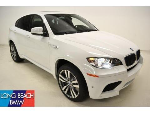 Bmw X6m White. Alpine White BMW X6 M Standard