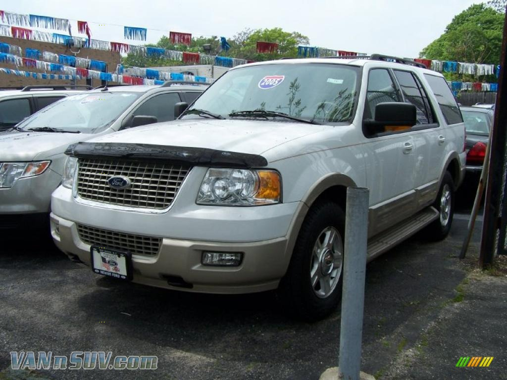 2005 ford expedition eddie bauer 4x4 in oxford white. Black Bedroom Furniture Sets. Home Design Ideas