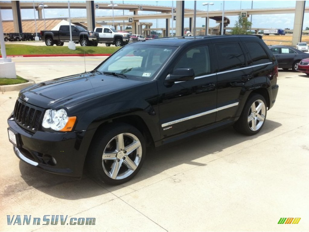 2008 jeep grand cherokee srt8 4x4 in black 168921 vans and suvs for sale in the us. Black Bedroom Furniture Sets. Home Design Ideas