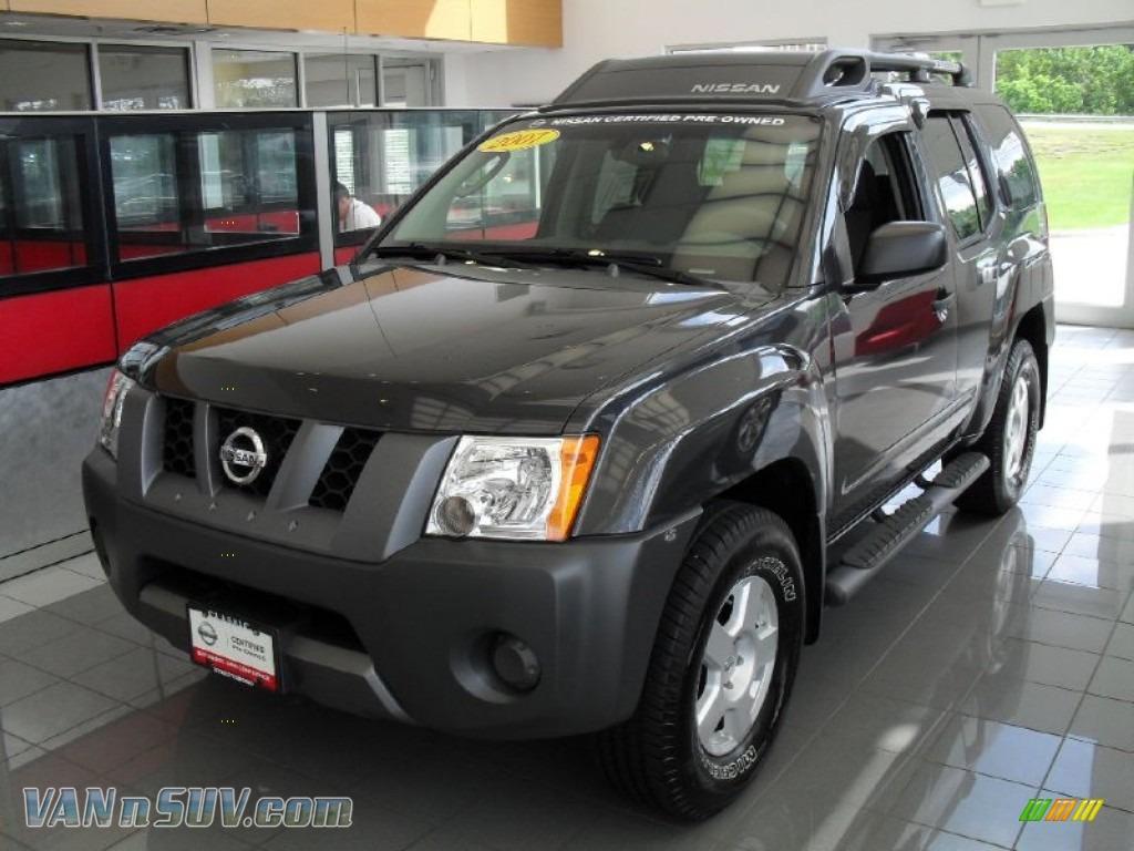 2007 Nissan Xterra S 4x4 In Night Armor Black Metallic