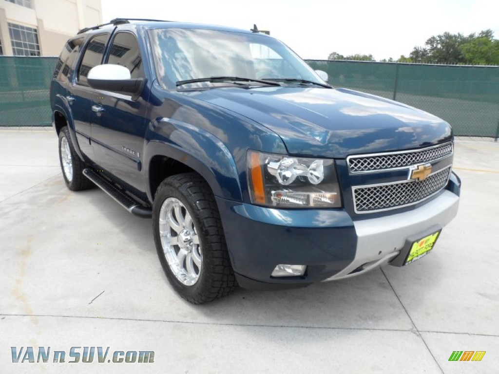 2007 chevrolet tahoe z71 4x4 in bermuda blue metallic 301109 vans and suvs for. Black Bedroom Furniture Sets. Home Design Ideas