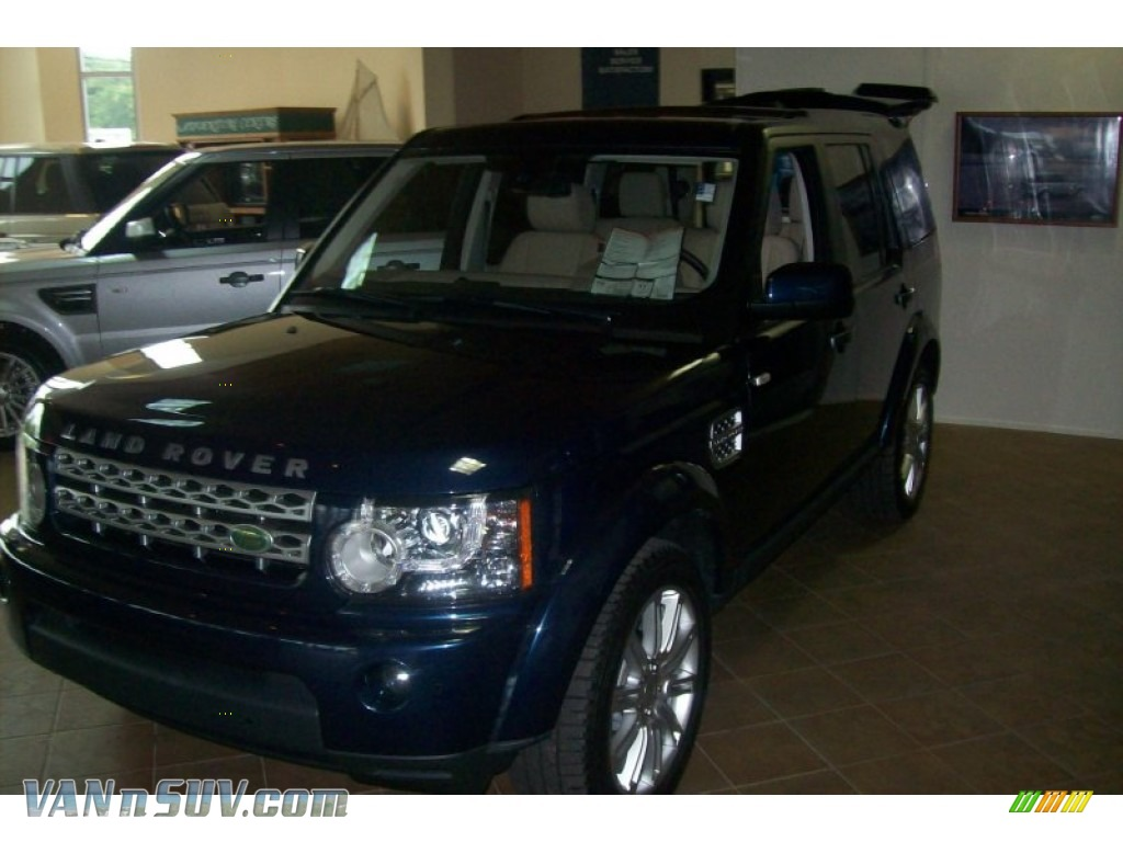 2011 land rover lr4 hse lux in baltic blue metallic for Baker motor company land rover