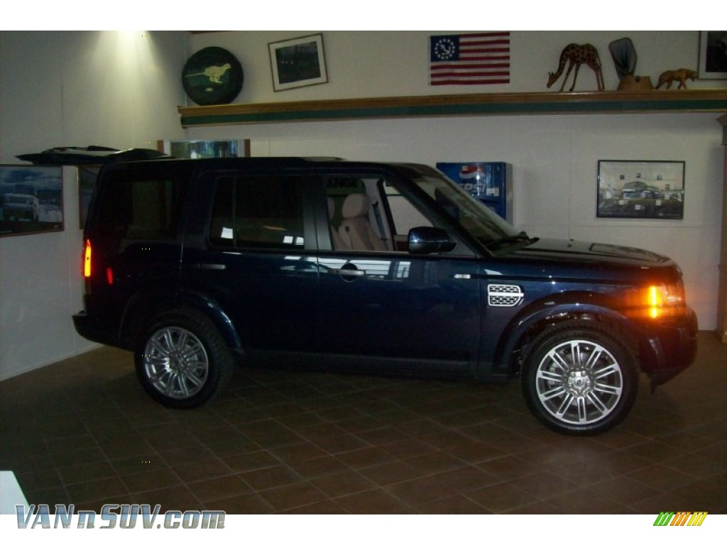 2011 land rover lr4 hse lux in baltic blue metallic photo for Baker motor company land rover