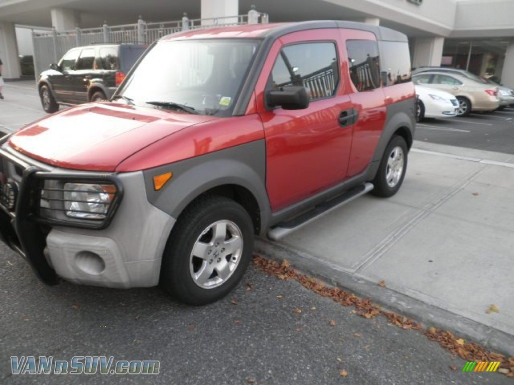 2003 honda element ex awd in sunset orange pearl 037256. Black Bedroom Furniture Sets. Home Design Ideas