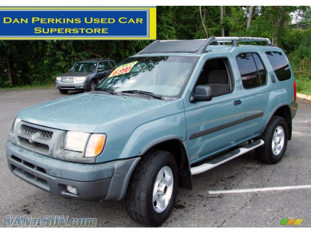 2001 nissan xterra se v6 4x4 in mineral blue metallic 587851 vannsuv com vans and suvs for