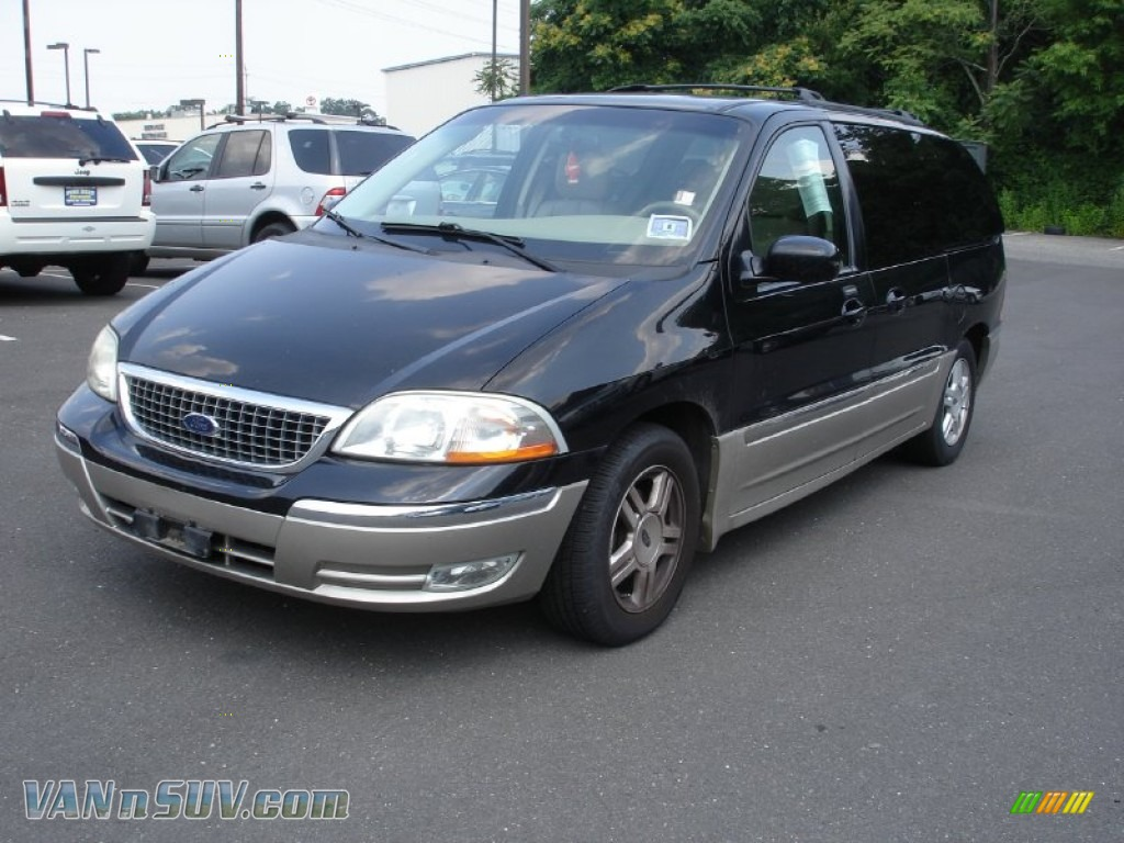 2003 ford windstar sel in black a04873 vans and suvs for sale in the us. Black Bedroom Furniture Sets. Home Design Ideas