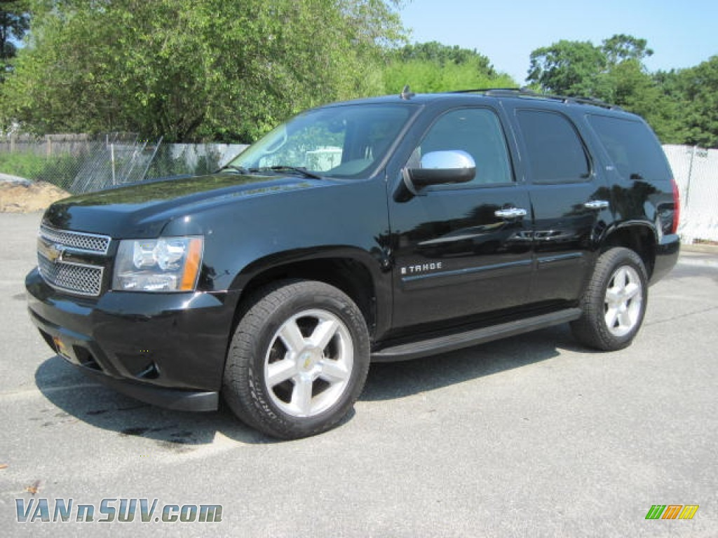 2007 chevrolet tahoe ltz 4x4 in black 382241 vans and suvs for sale in the us. Black Bedroom Furniture Sets. Home Design Ideas