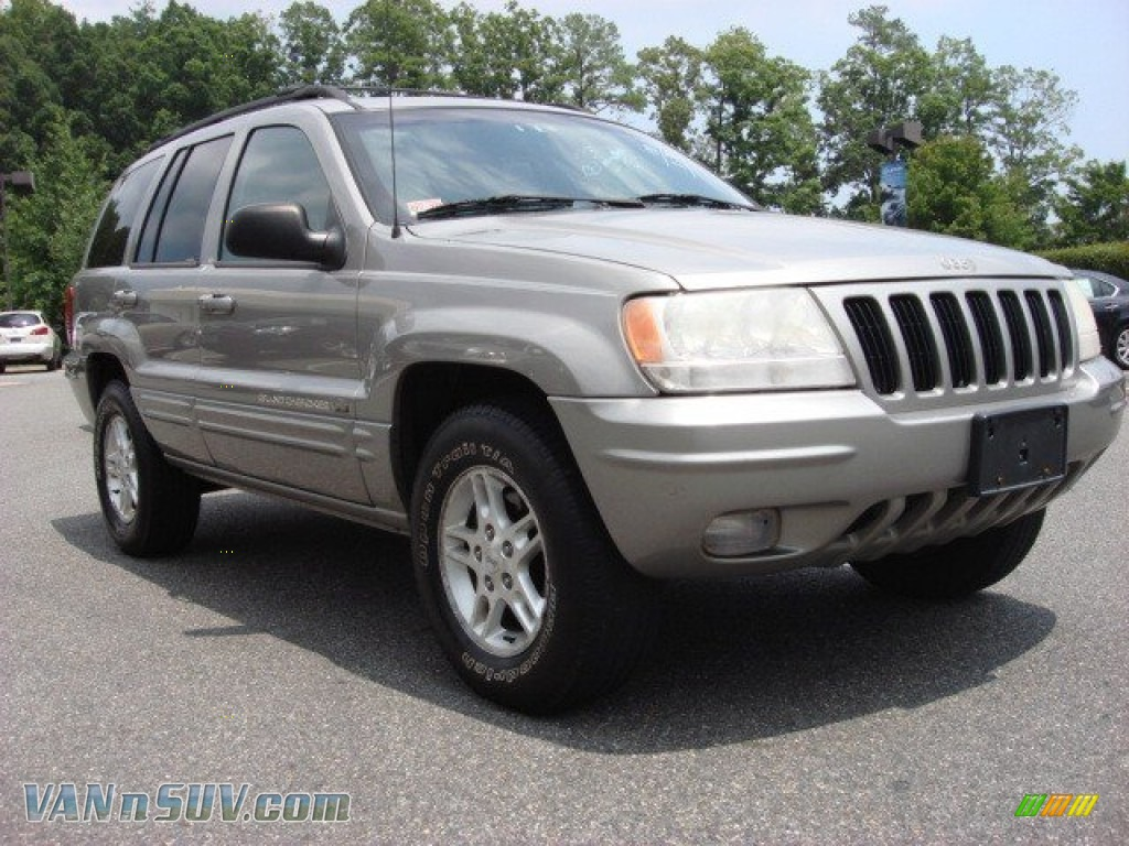 2000 jeep grand cherokee limited 4x4 in silverstone metallic 273809. Cars Review. Best American Auto & Cars Review