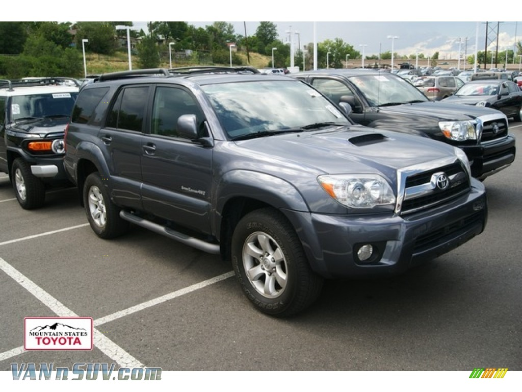 2007 Toyota 4runner Sport Edition 4x4 In Galactic Gray