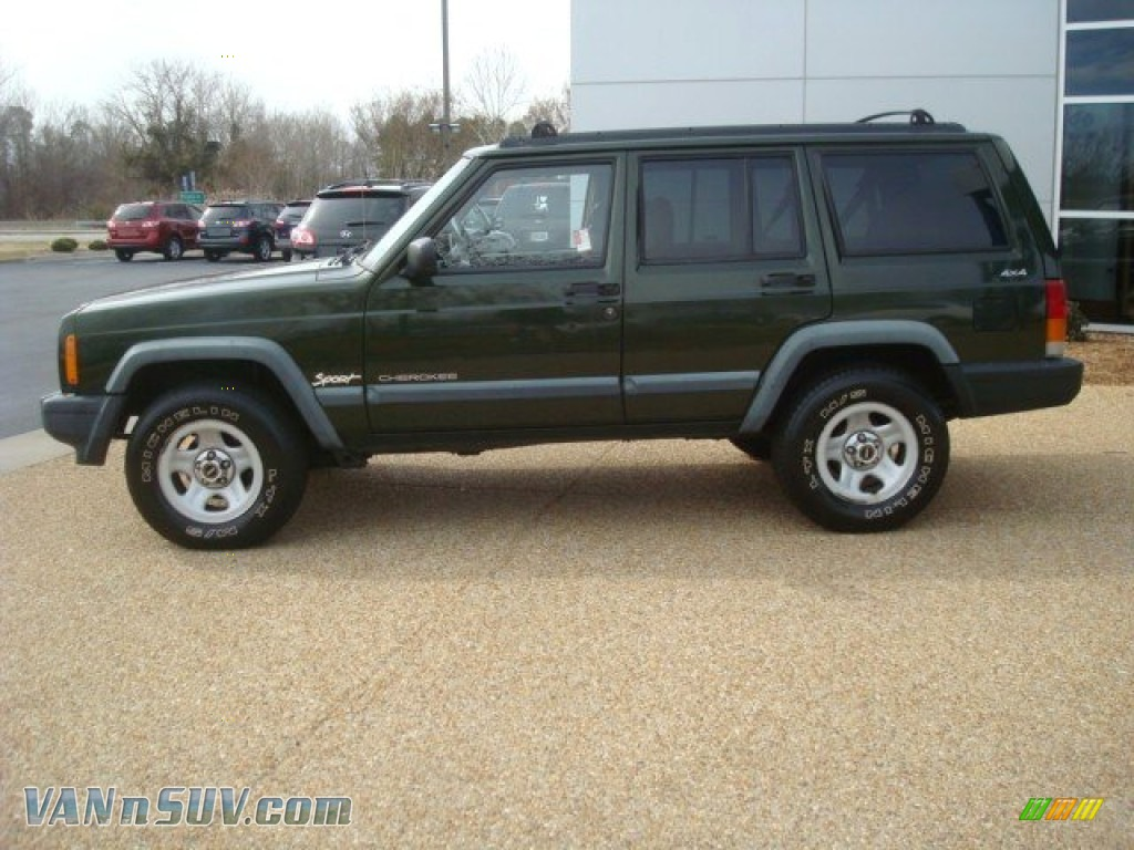 1998 jeep cherokee sport 4x4 in emerald green pearl photo. Black Bedroom Furniture Sets. Home Design Ideas