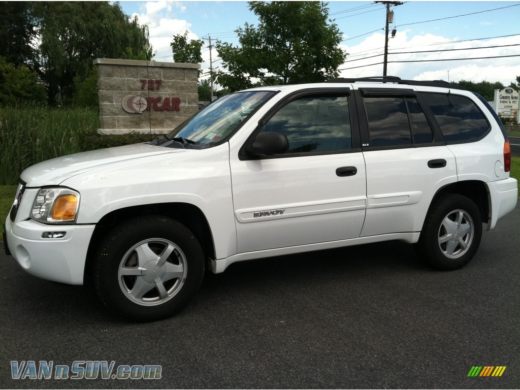 2003 gmc envoy sle 4x4 in summit white 104892 vannsuv. Black Bedroom Furniture Sets. Home Design Ideas