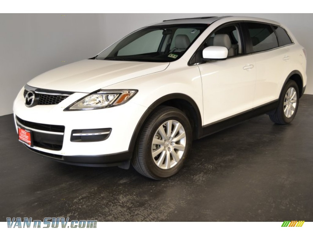 2008 mazda cx 9 touring in crystal white pearl mica 143389 vans and suvs for. Black Bedroom Furniture Sets. Home Design Ideas