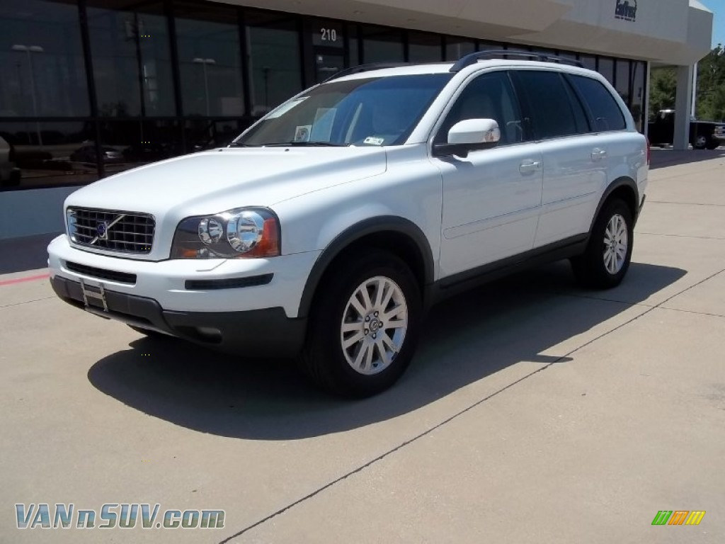 2008 volvo xc90 3 2 awd in ice white 484119 vans and suvs for sale in the us. Black Bedroom Furniture Sets. Home Design Ideas