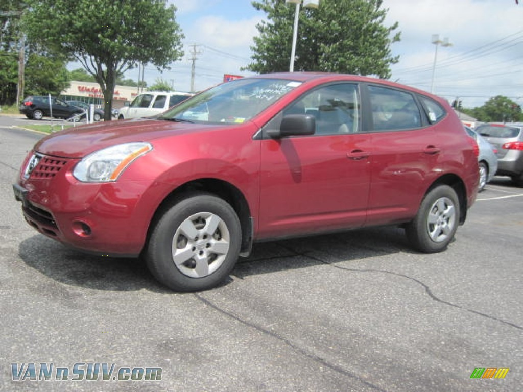 2008 Nissan Rogue S Awd In Venom Red Pearl 141927