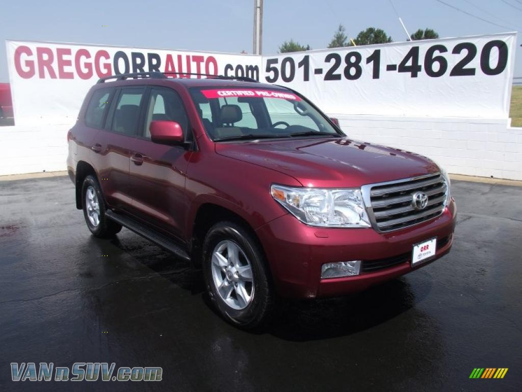 Orr Toyota Searcy >> 2008 Toyota Land Cruiser in Salsa Red Pearl - 001333 ...