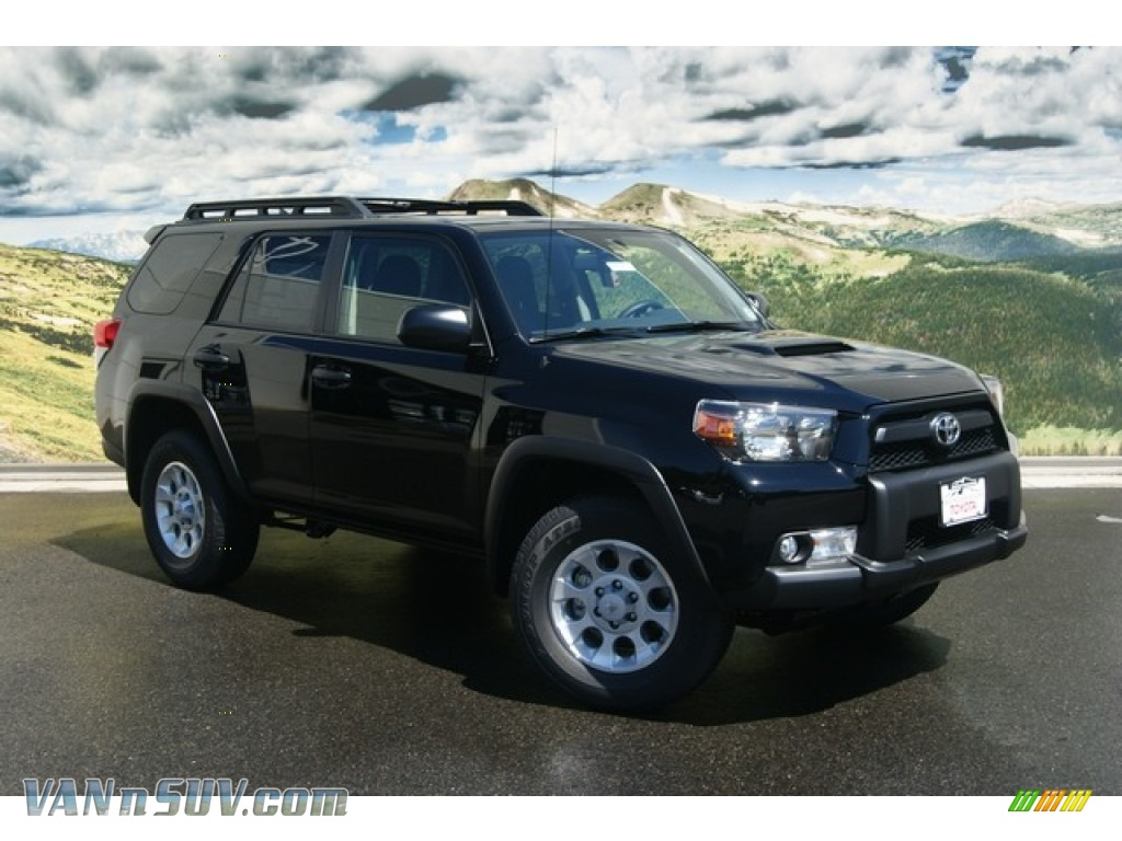 2011 toyota 4runner trail 4x4 in black 067611 vans and suvs for sale in the us. Black Bedroom Furniture Sets. Home Design Ideas