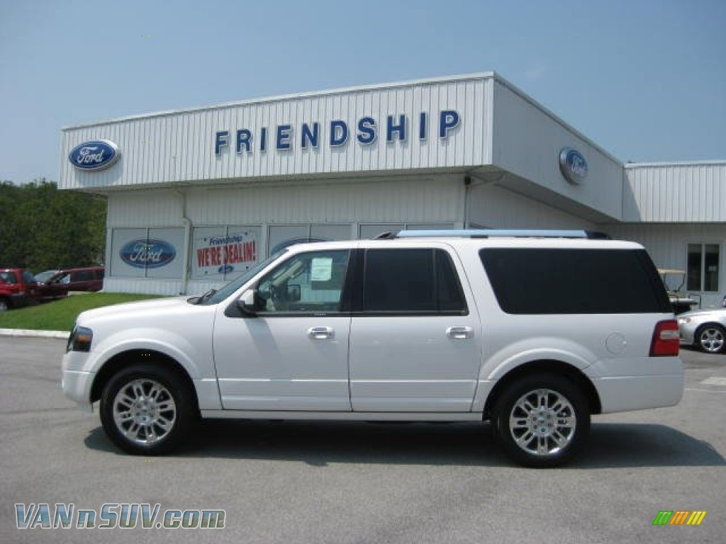 2011 Ford Expedition White 200 Interior And Exterior Images