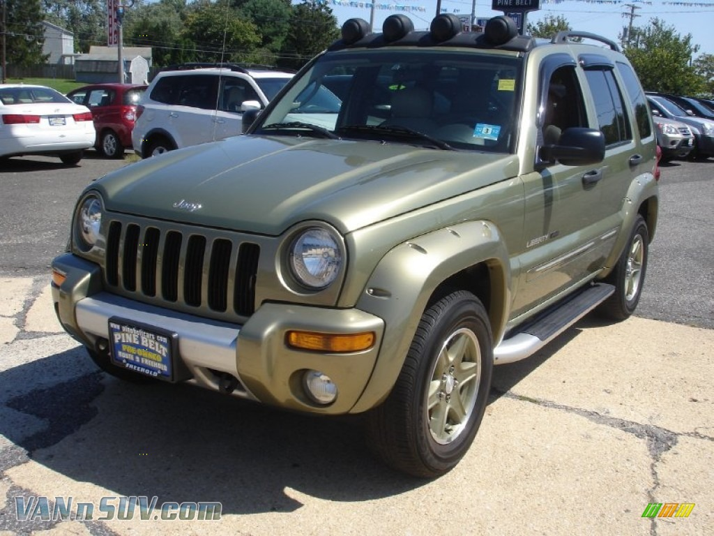 2003 jeep liberty renegade 4x4 in cactus green pearl 565065 vans and suvs for. Black Bedroom Furniture Sets. Home Design Ideas