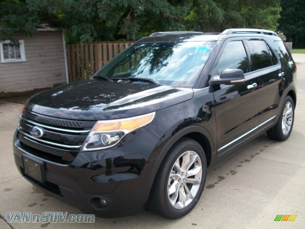 black charcoal black ford explorer limited ecoboost - Ford Explorer 2012 Black