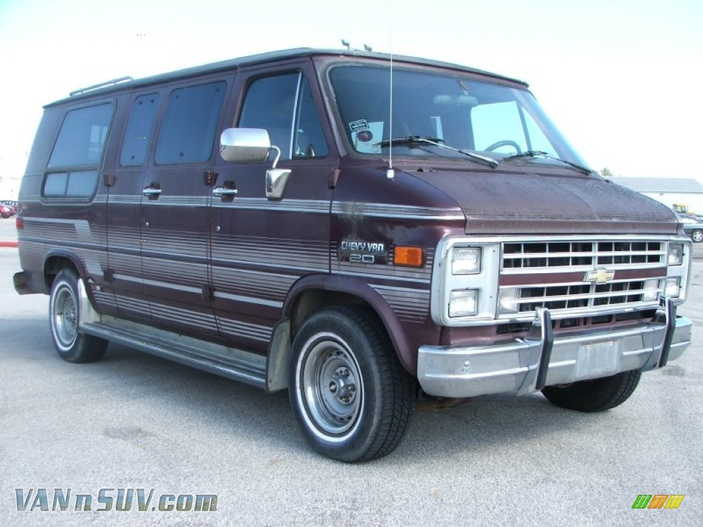 1990 Chevrolet Chevy Van G20 Passenger Conversion In Brown Photo 3 113617 Vannsuv Com Vans And Suvs For Sale In The Us