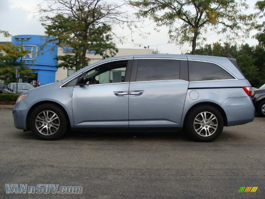 2011 Honda Odyssey Ex L In Celestial Blue Metallic