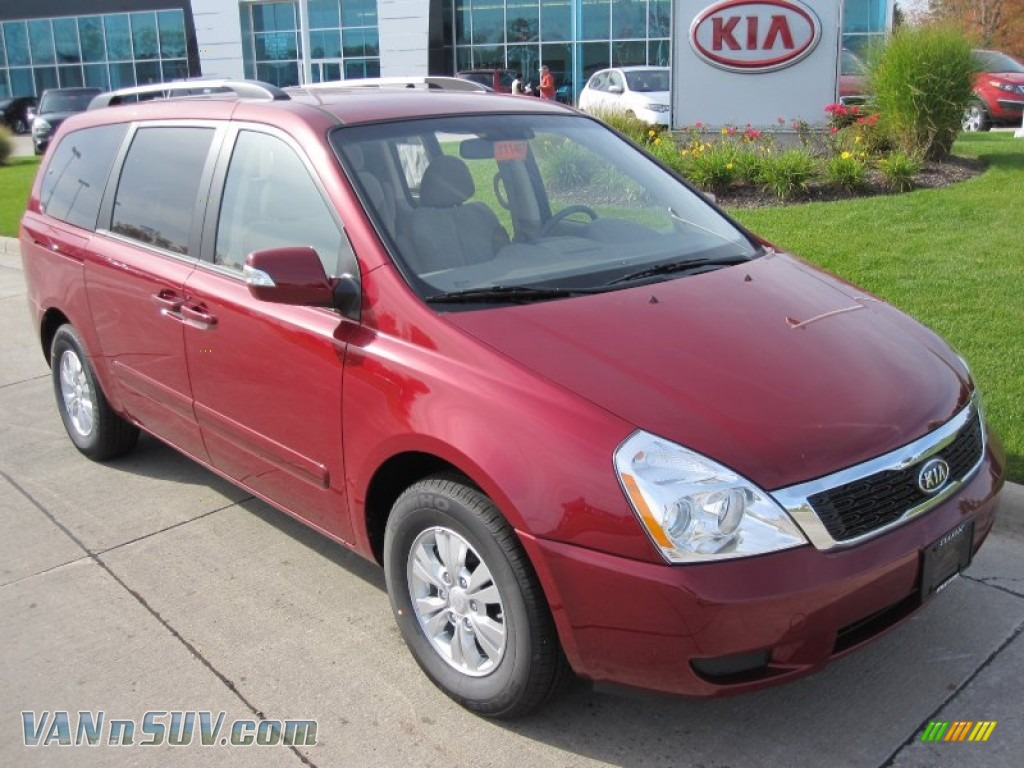 2012 kia sedona lx in claret red photo 6 441719 vans and suvs for sale in the us. Black Bedroom Furniture Sets. Home Design Ideas