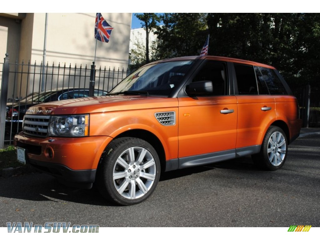 2006 Land Rover Range Rover Sport Supercharged In Vesuvius