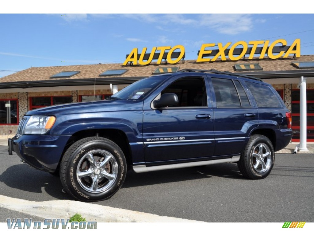 2004 jeep grand cherokee overland 4x4 in midnight blue pearl 107678 vans and. Black Bedroom Furniture Sets. Home Design Ideas