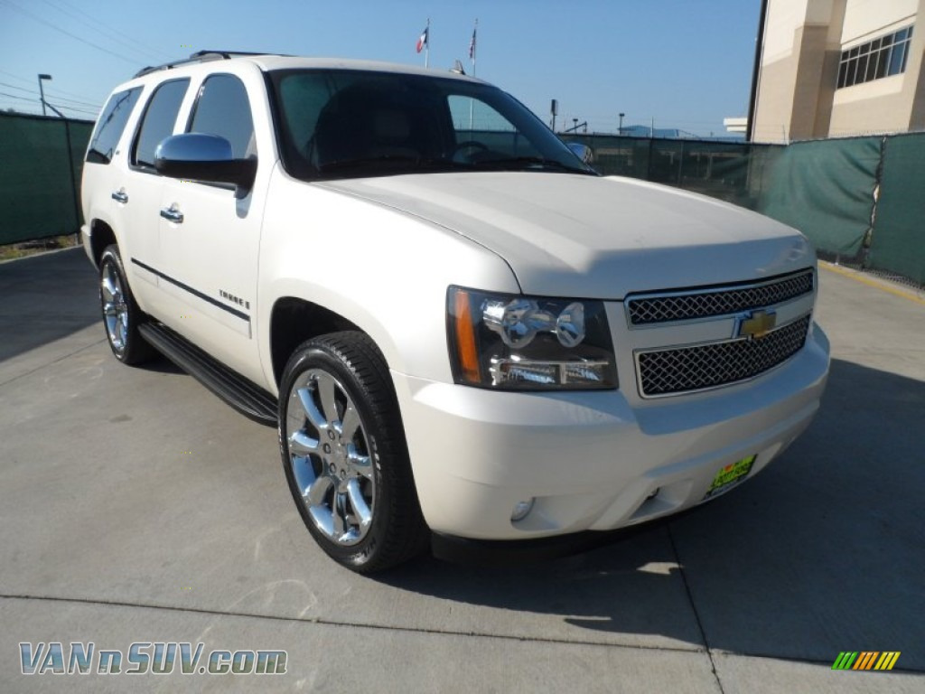 2009 chevrolet tahoe ltz in white diamond tricoat 167207 vans and suvs for. Black Bedroom Furniture Sets. Home Design Ideas