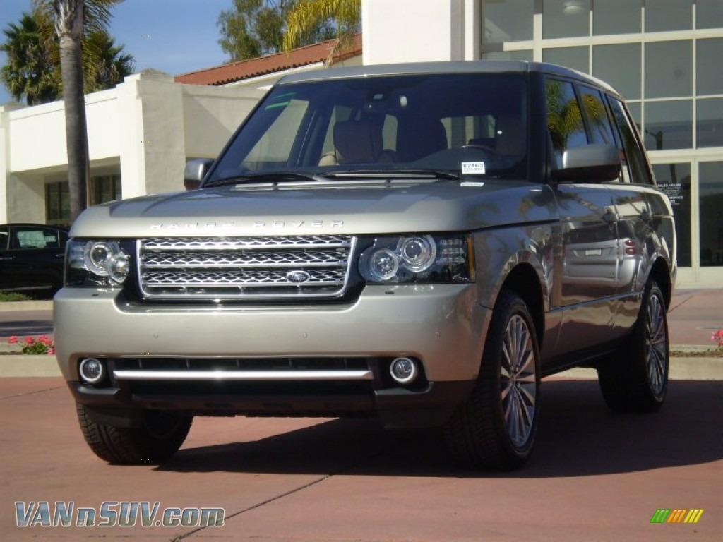 2012 land rover range rover supercharged in ipanema sand metallic 363685 vans. Black Bedroom Furniture Sets. Home Design Ideas