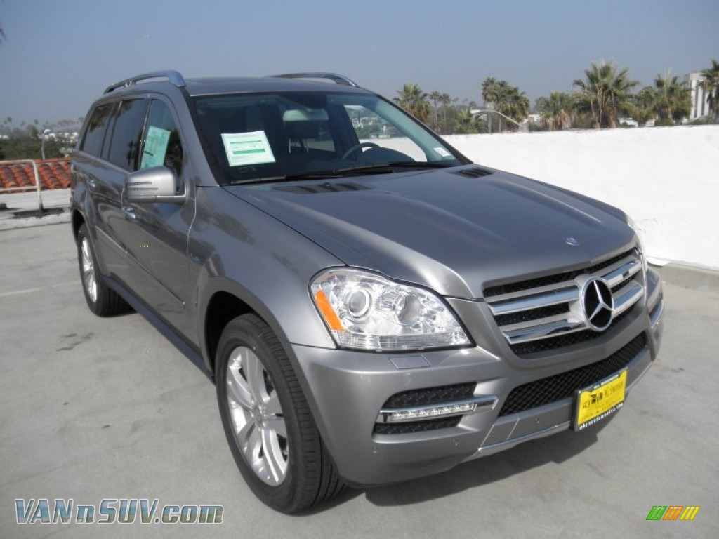 2012 mercedes benz gl 350 bluetec 4matic in paladium. Black Bedroom Furniture Sets. Home Design Ideas