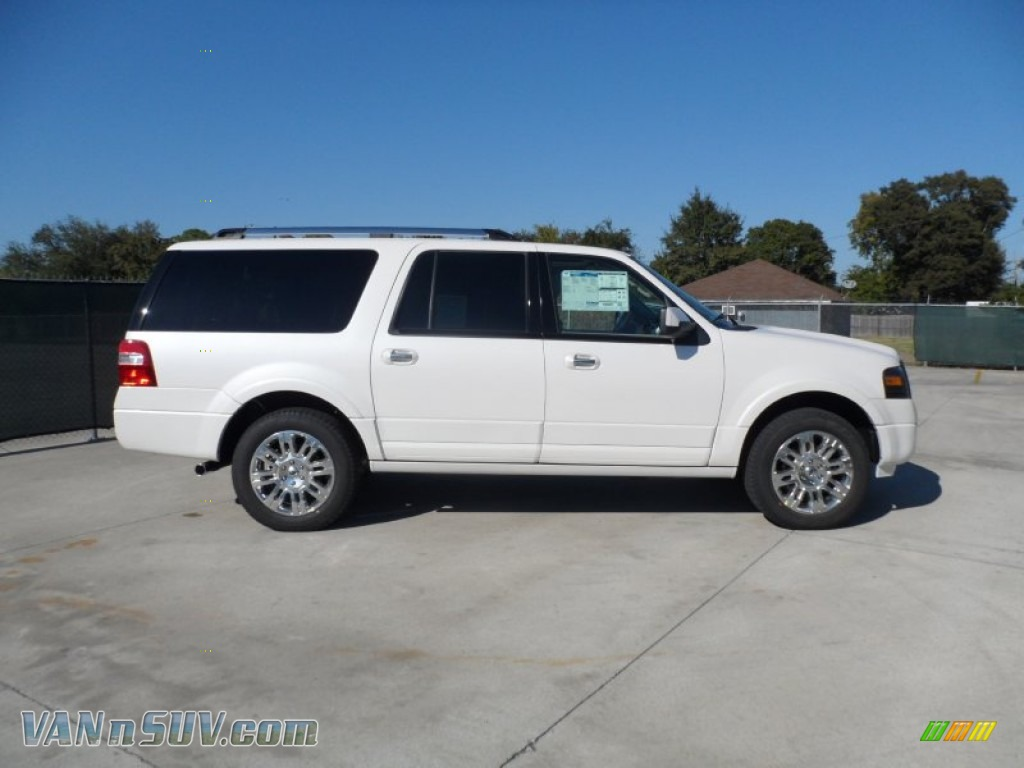 2012 Ford Expedition El Limited In White Platinum Tri Coat