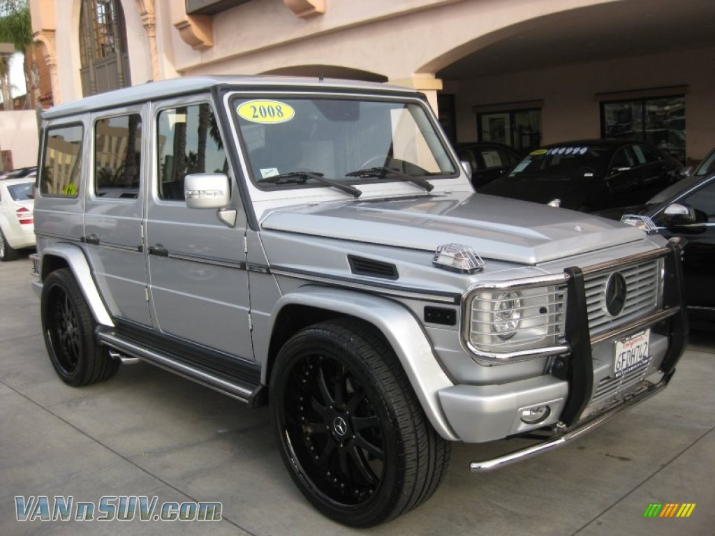 2008 mercedes benz g 55 amg in iridium silver metallic for Simonson mercedes benz