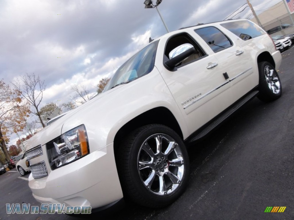 2012 chevrolet suburban ltz 4x4 in white diamond tricoat for Steve white motors inc