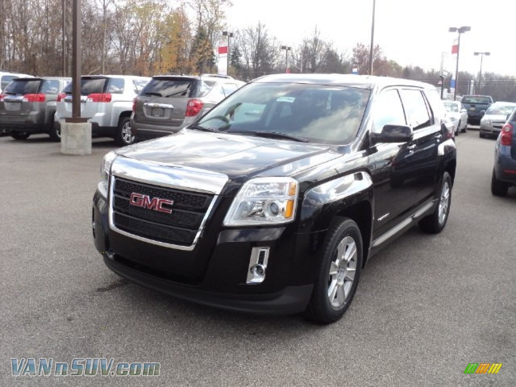 2012 gmc terrain sle in onyx black 174544 vans and suvs for sale in the us. Black Bedroom Furniture Sets. Home Design Ideas