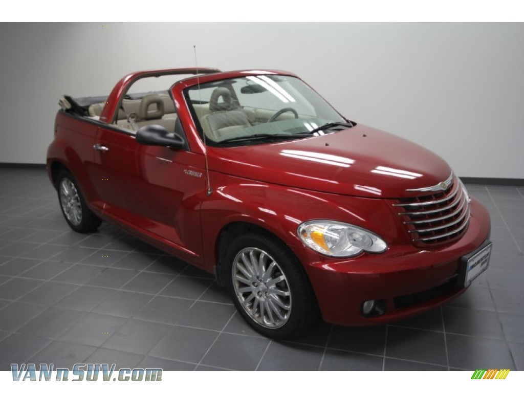2006 chrysler pt cruiser gt convertible in inferno red crystal pearl photo 3 321528 vannsuv. Black Bedroom Furniture Sets. Home Design Ideas