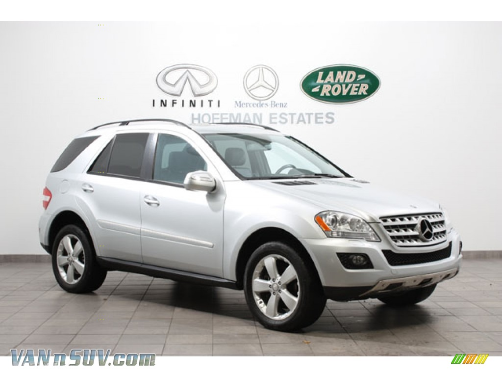 2009 mercedes benz ml 350 4matic in iridium silver for 2009 mercedes benz ml350 4matic for sale