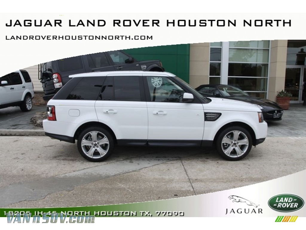 2012 Land Rover Range Rover Sport HSE LUX in Fuji White  727498
