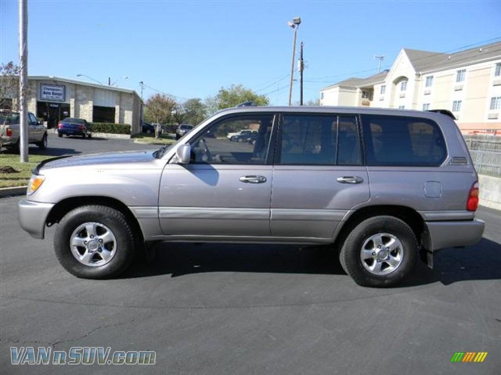 2001 Toyota Land Cruiser In Thunder Cloud Metallic Photo 9 012417 Gray